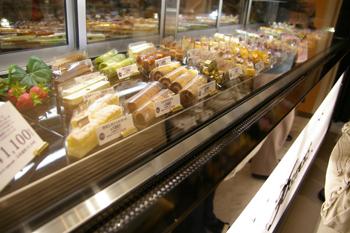 トレッサ横浜のスティックケーキ専門店「36 STICKS」のケーキ