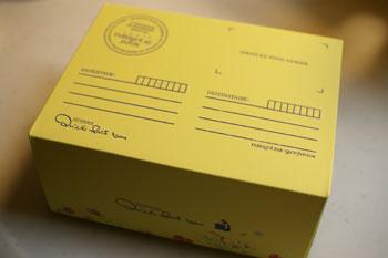 横浜相鉄ジョイナスにあるタルトのお店「キル フェ ボン」の箱