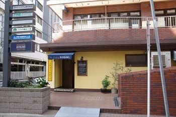 横浜にあるイタリアン「トラットリア ビコローレ ヨコハマ」の外観