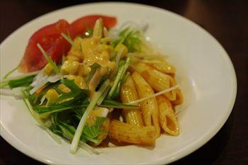 横浜桜木町にあるハンバーグのお店「ブッチャーズグリル」のサラダ