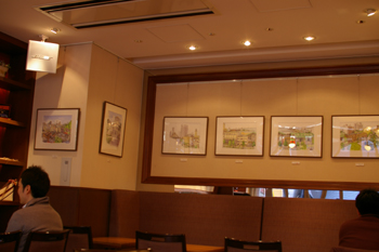 横濱菓楼 HARBOUR`S MOON(ハーバーズムーン)の店内