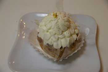 横浜そごうのケーキショップ「シーキューブ」のモンブラン