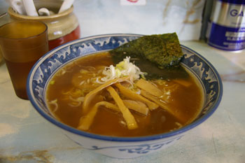 武蔵小杉にあるラーメン店「ラーメン丸仙」のラーメン