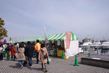 横浜ベイサイドマリーナのパンまつり