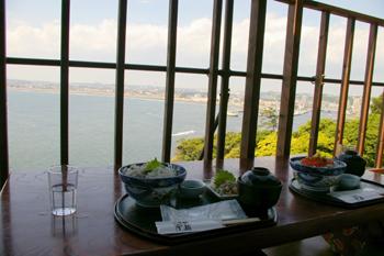 江之島亭からの眺め