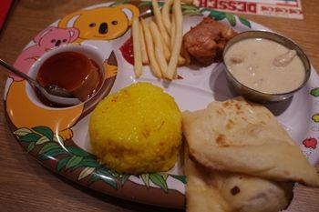 横浜みなとみらいにあるインド料理のお店「カザーナ」のランチ