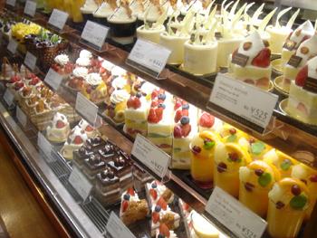 横浜高島屋のケーキショップ「グラマシーニューヨーク」のケーキ