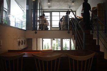 横浜元町・中華街にある「パンケーキ・リストランテ」の店内