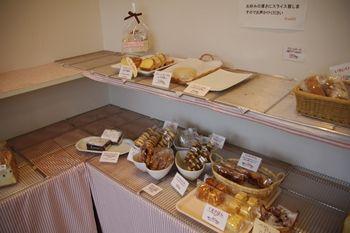 横浜高田にあるパン屋さん「Bread50(ブレッド50)」の店内