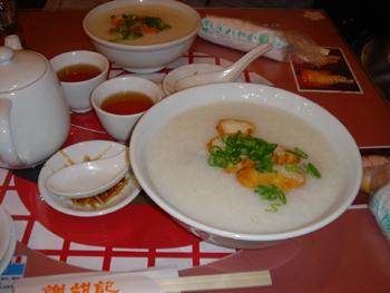 謝甜記(シャテンキ)のお粥