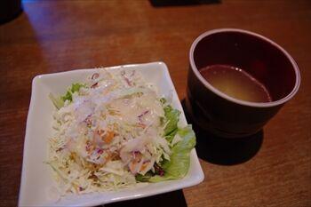 横浜東神奈川にある「KUBOTA食堂」のランチ