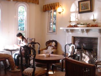 横浜山手のカフェ「えの木てい」の喫茶室