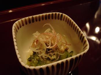 横浜ロイヤルパークホテルの鉄板焼き「よこはま」のお通し