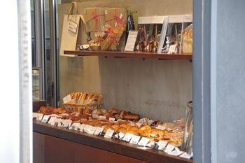 中目黒にあるパン屋さん「TRASPARENTE」の店内