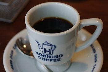 新横浜にあるカフェ「星乃珈琲店」のコーヒー