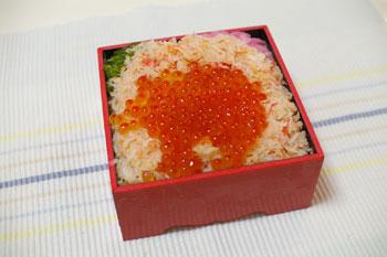 そごう横浜店の「北海道の物産と観光展」の市場弁当