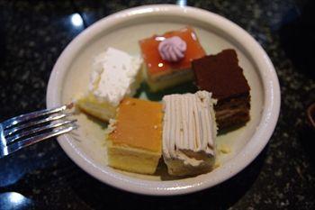 川崎駅にある焼き肉店「あみやき亭」のデザート