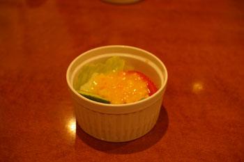 横浜元町のおいしいパスタ屋「J PASTA 元町店」のサラダ
