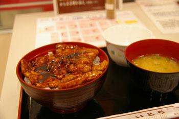 そごう横浜店で開催中の北海道物産展の豚丼