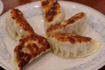 横浜中華街にある中華料理店「慶福楼」の焼き餃子