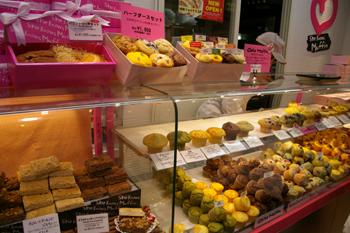 横浜相鉄ジョイナスのShe Knows Muffinの売り場
