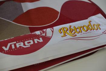 渋谷にあるパン屋「VIRON(ヴィロン)」のレトロドール