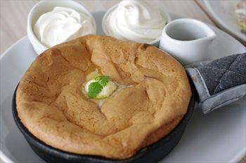 横浜ベイクォーターにあるパンケーキ専門店「バター」のパンケーキ
