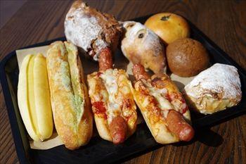 箱根にあるカフェ「ベーカリー&テーブル」のパン