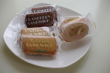 横浜日本大通りにある洋菓子店「かをり」のお菓子