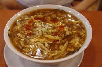 横浜中華街にある「揚州麺房」の料理