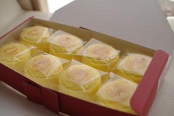 横浜そごうで開催中の「初夏の北海道物産展」のお菓子