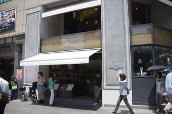 渋谷にあるパン屋「ゴントラン シェリエ 東京」の外観