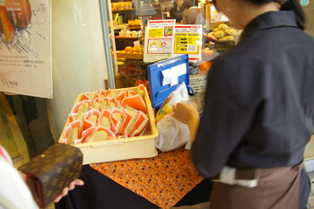 横浜ベイクォーター「ヴィクトワール」のブリオッシュメロンパン
