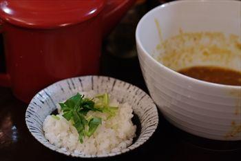 鎌倉にあるつけ麺専門店「麺屋 波(WAVE)」のご飯