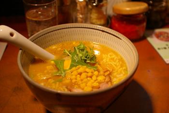 横浜港北区大倉山のラーメン屋「摩天楼」の味噌ラーメン