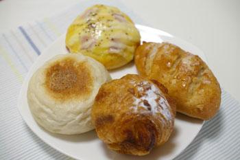 横浜大倉山のおいしいパン屋さん「アンソレイユ」のパン