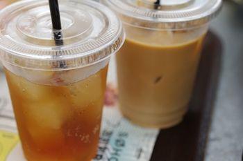 テラスモール湘南にあるカフェ「SOHOLM CAFE」のドリンク