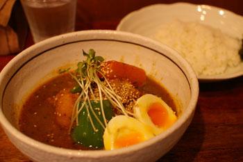 横浜綱島のスープカレーのお店「ハンジロー」のスープカレー
