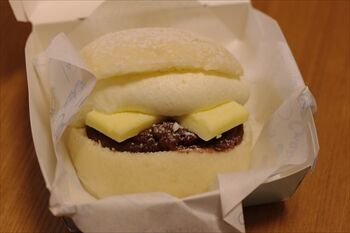 横浜にある「グッドモーニングテーブル」のスイーツバーガー
