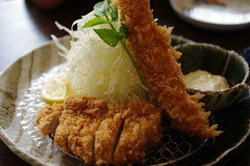 新横浜にあるとんかつ屋さん「かつくら」のかつくら膳