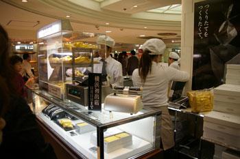 横浜高島屋に期間限定出店したお菓子の店「黒船」