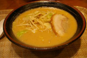 横浜ワールドポーターズのラーメン屋「みそ源」の味噌ラーメン