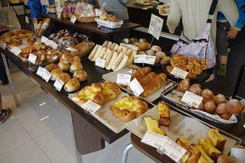 横浜北山田にあるパン屋さん「ブーランジェリー・ベック」の店内