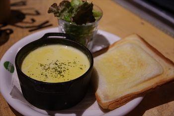 横浜みなとみらいにあるカフェ「キャンプコーヒー」のトースト