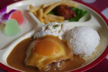 横浜仲町台にあるハワイアンカフェ「H1 CAFE」のキッズプレート