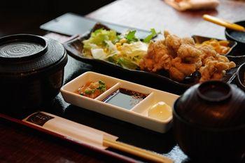 横浜みなとみらいにある創作和食のお店「さかえや」のランチ
