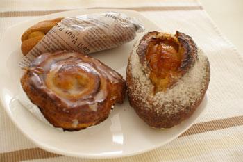 新横浜にあるおいしいパン屋「シャン ド ブレ」のパン