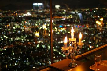 横浜ランドマークタワー スカイガーデンのクリスマスオブジェ3