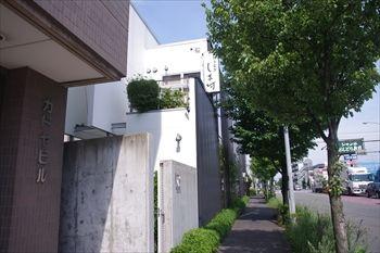 横浜市港北区にあるうなぎ料理専門店「しま村」の外観