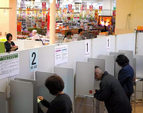【選挙】「知人に会いたくない・・・」。期日前投票が切実な理由で増加中。背景に地方の濃密な人間関係